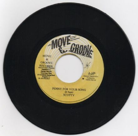 Scotty - Penny For Your Song / Crystalites - Penny Version (Move & Groove) JA 7